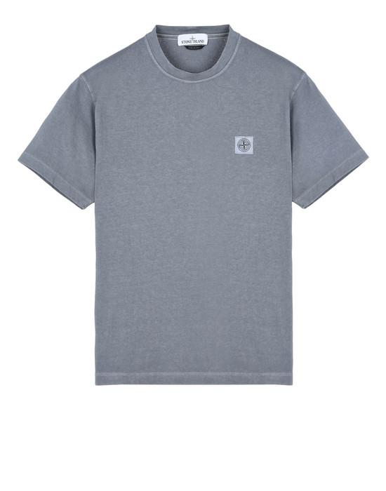 STONE ISLAND Short sleeve t-shirt 21142 'FISSATO' DYE TREATMENT