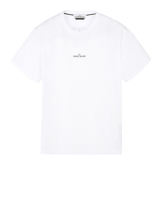 STONE ISLAND Short sleeve t-shirt 2NS83 DOUBLE PIN