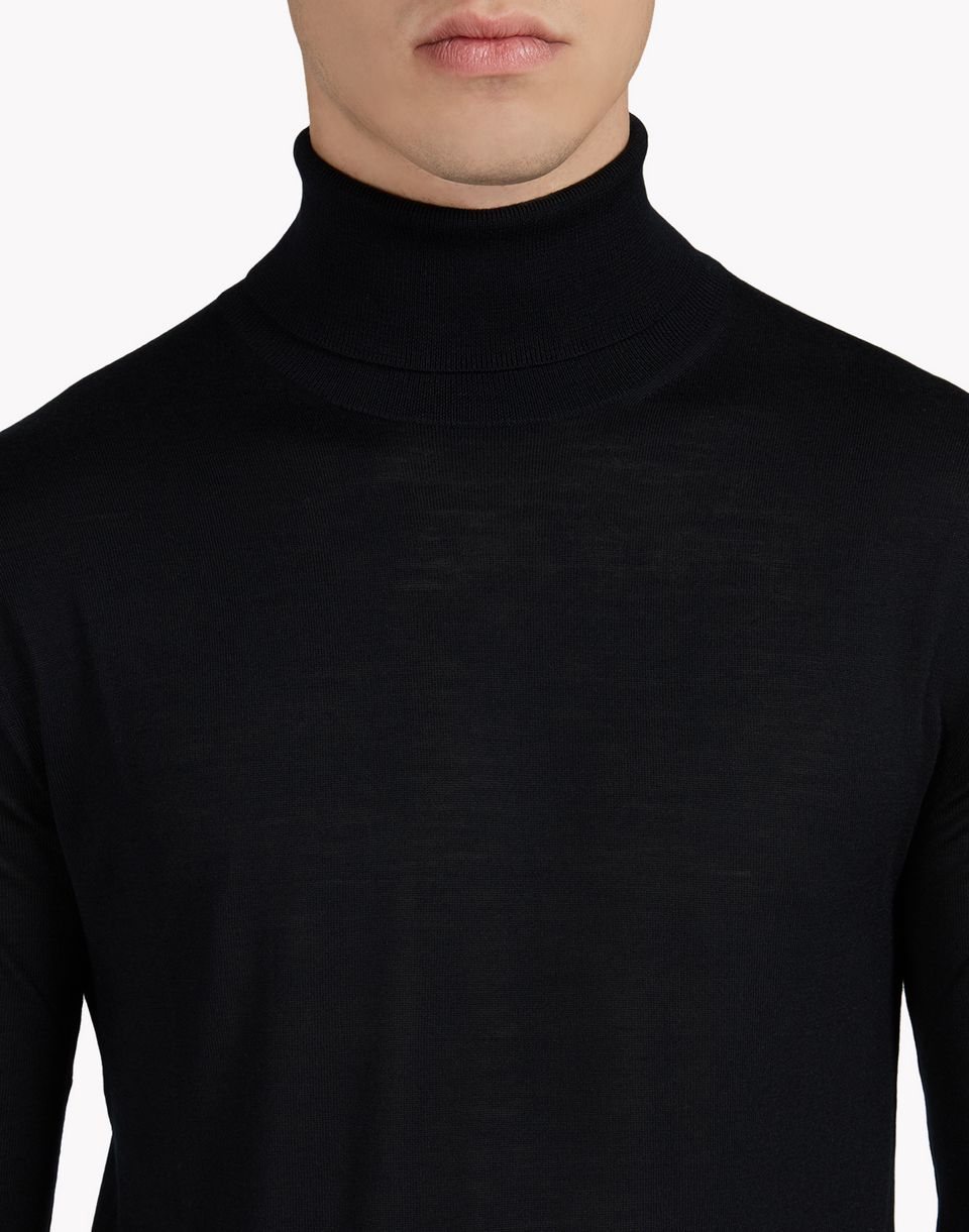 wool turtleneck pullover tops & tanktops Herren Dsquared2