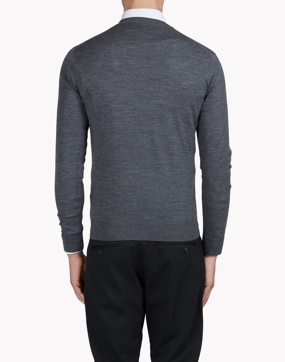 wool v-neck pullover tops & tees Man Dsquared2