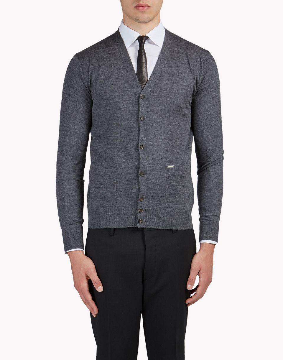 wool cardigan tops & tanktops Herren Dsquared2