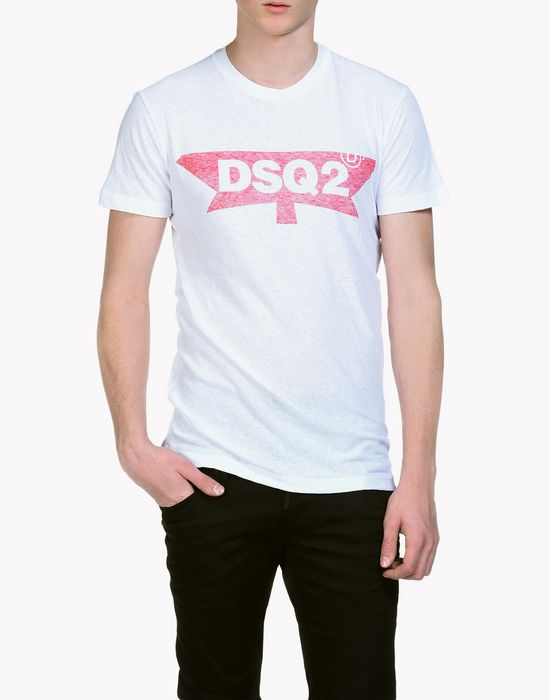 dsq2 t-shirt top wear Man Dsquared2
