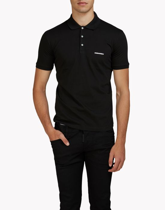 dan polo shirt top wear Man Dsquared2