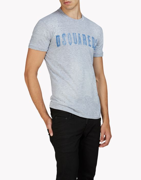 dan t-shirt top wear Man Dsquared2