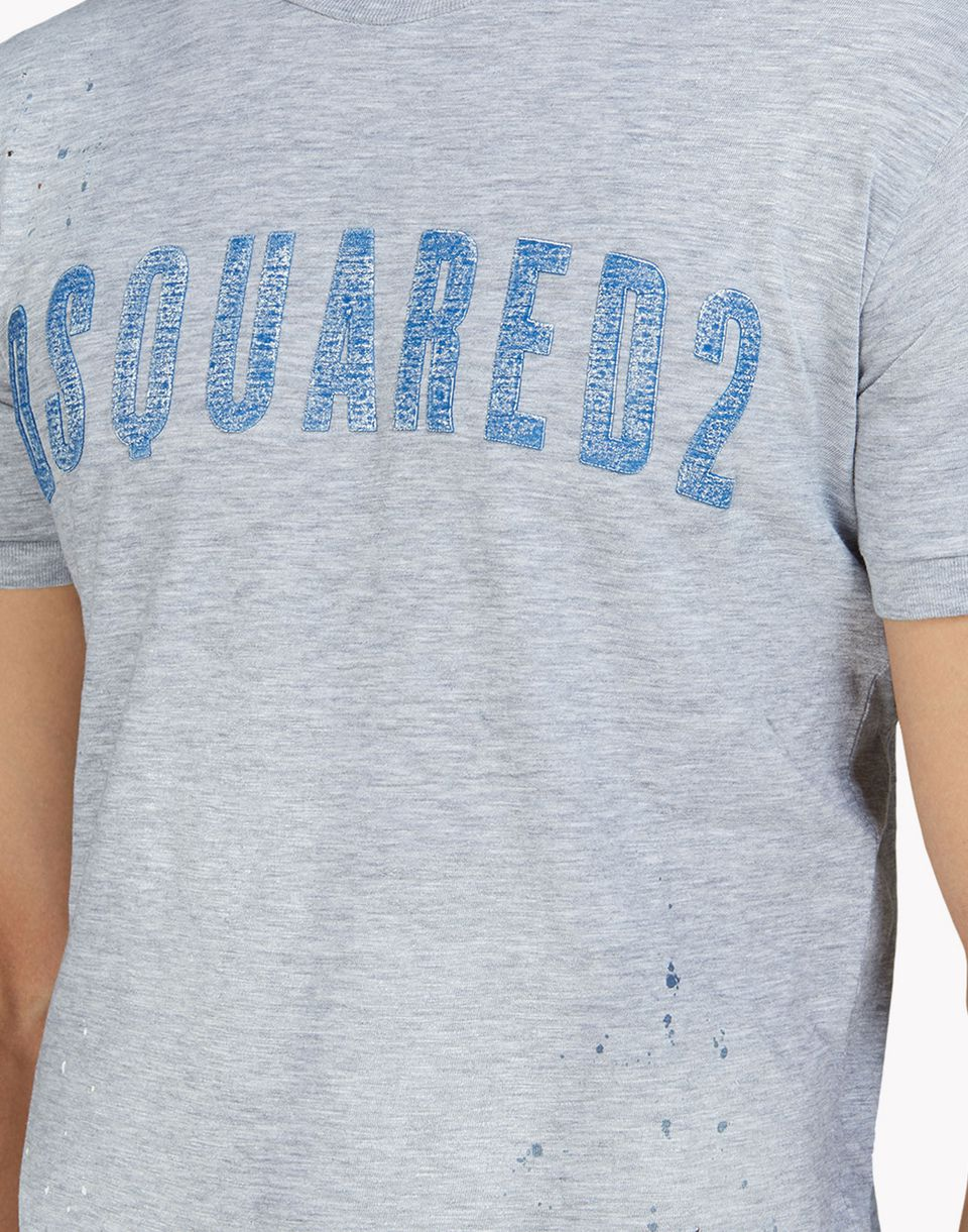 d2 dan t-shirt tops & tees Man Dsquared2