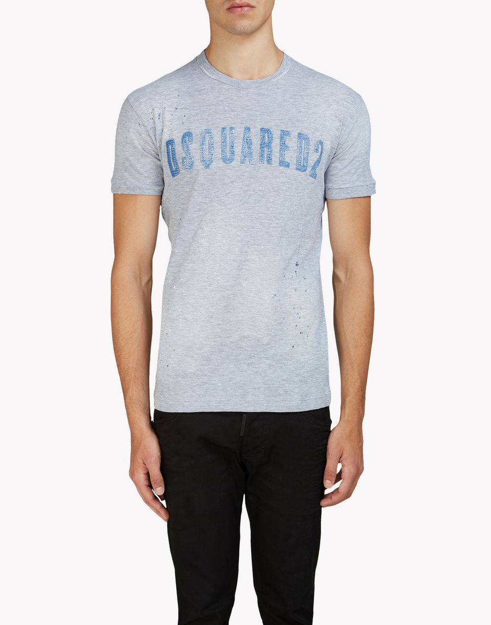 dan t-shirt tops & tees Man Dsquared2