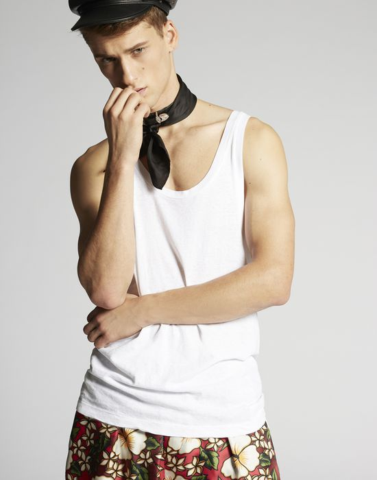 tank top camisetas y tops Hombre Dsquared2