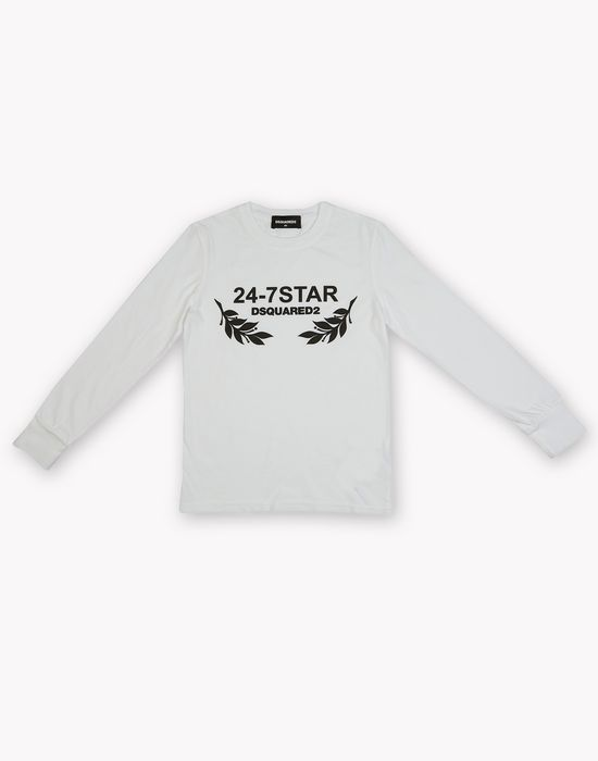 24-7 star long sleeve t-shirt tops & tanktops Herren Dsquared2