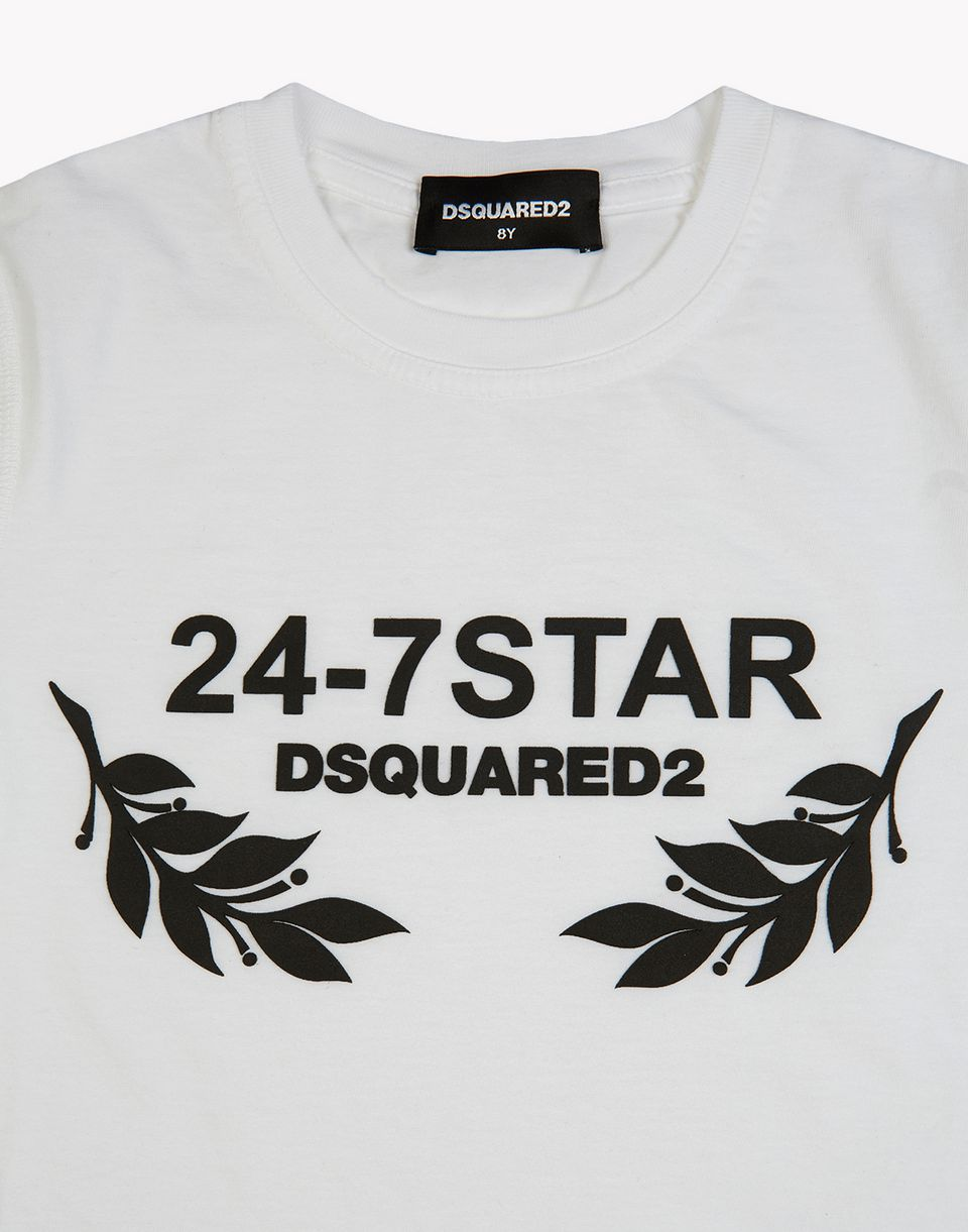 24-7 star long sleeve t-shirt tops & tees Man Dsquared2
