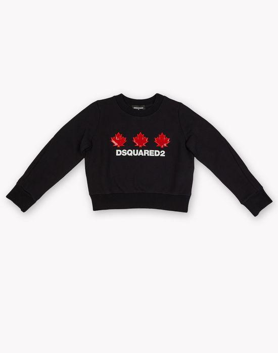 maple leaf sweatshirt tops & tanktops Damen Dsquared2