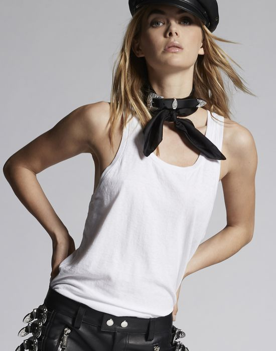tank top camisetas y tops Mujer Dsquared2
