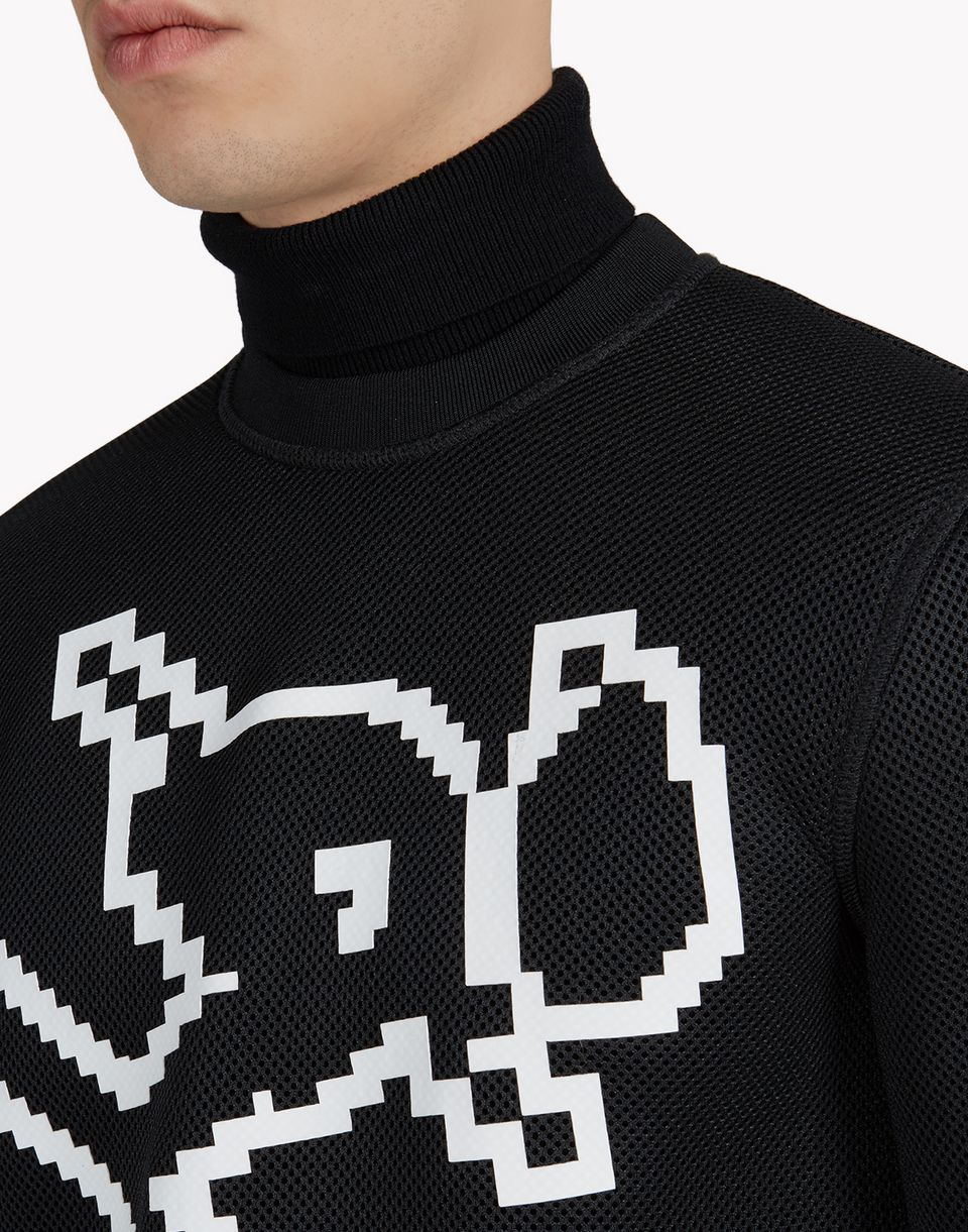 d2 technical ski motif sweatshirt tops & tees Man Dsquared2