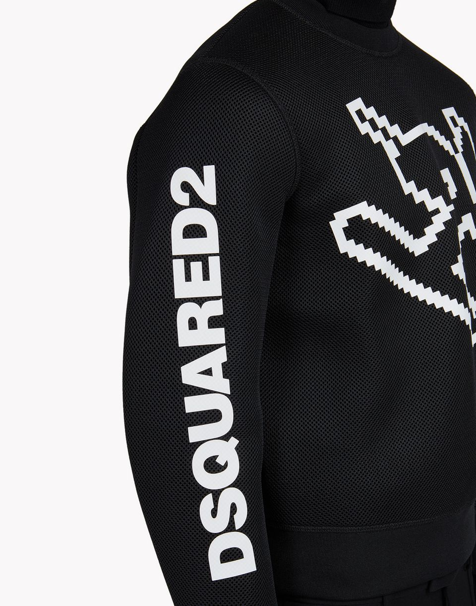d2 ski downhill sweatshirt tops & tees Man Dsquared2