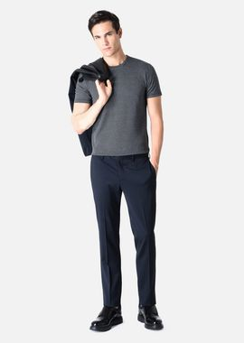 Armani T-Shirts Men t-shirt in stretch jersey with micro jacquard details