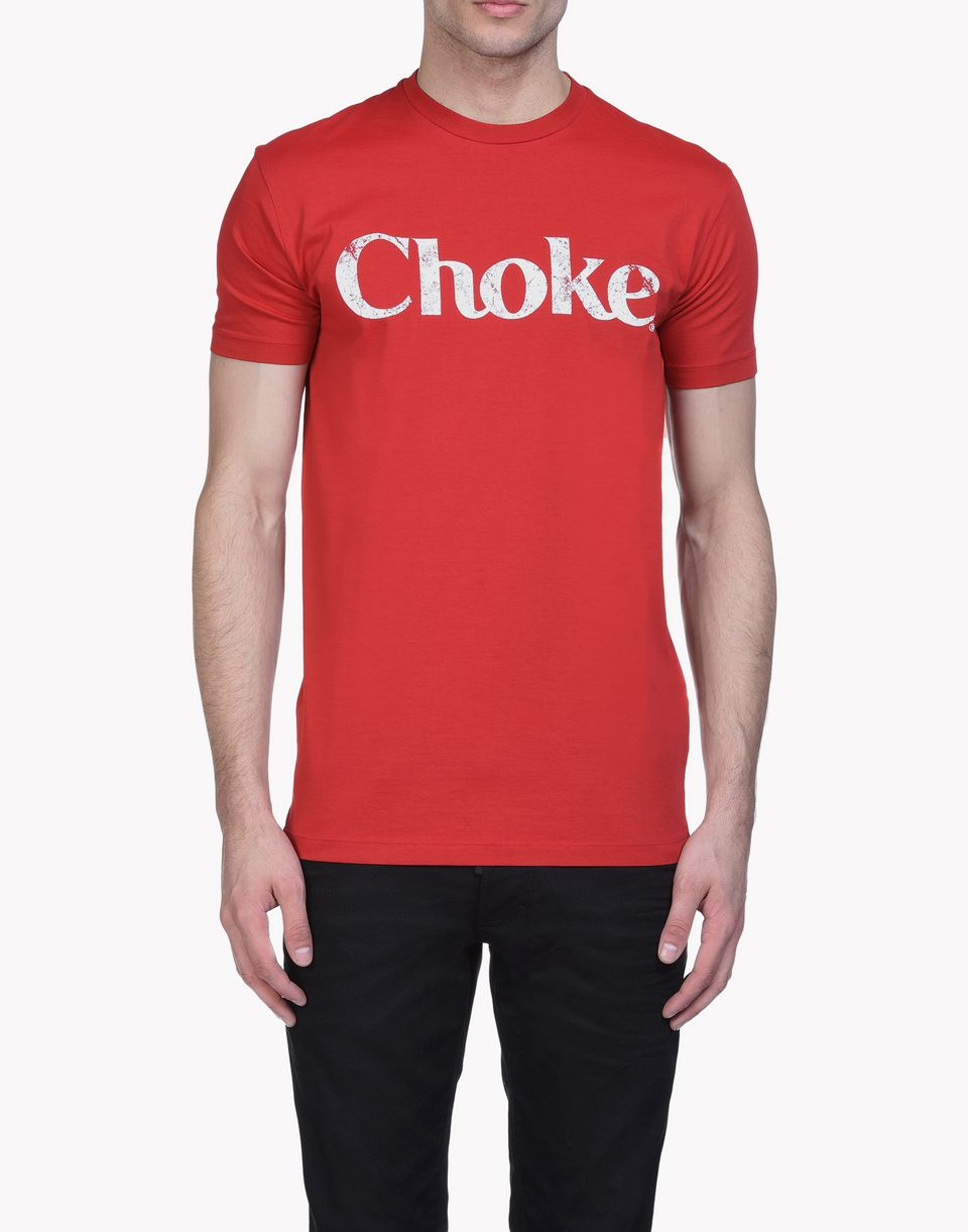 choke t-shirt tops & tees Man Dsquared2