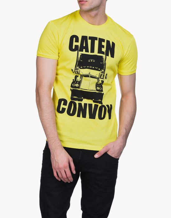 caten convoy t-shirt tops & tees Man Dsquared2
