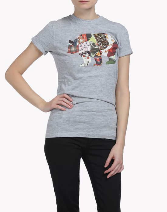 canada bear t-shirt tops Femme Dsquared2