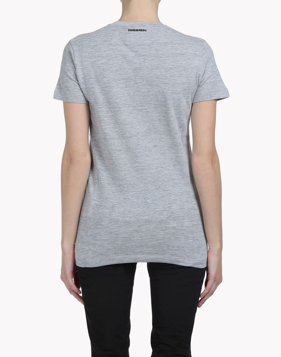 canada bear t-shirt tops & tees Woman Dsquared2