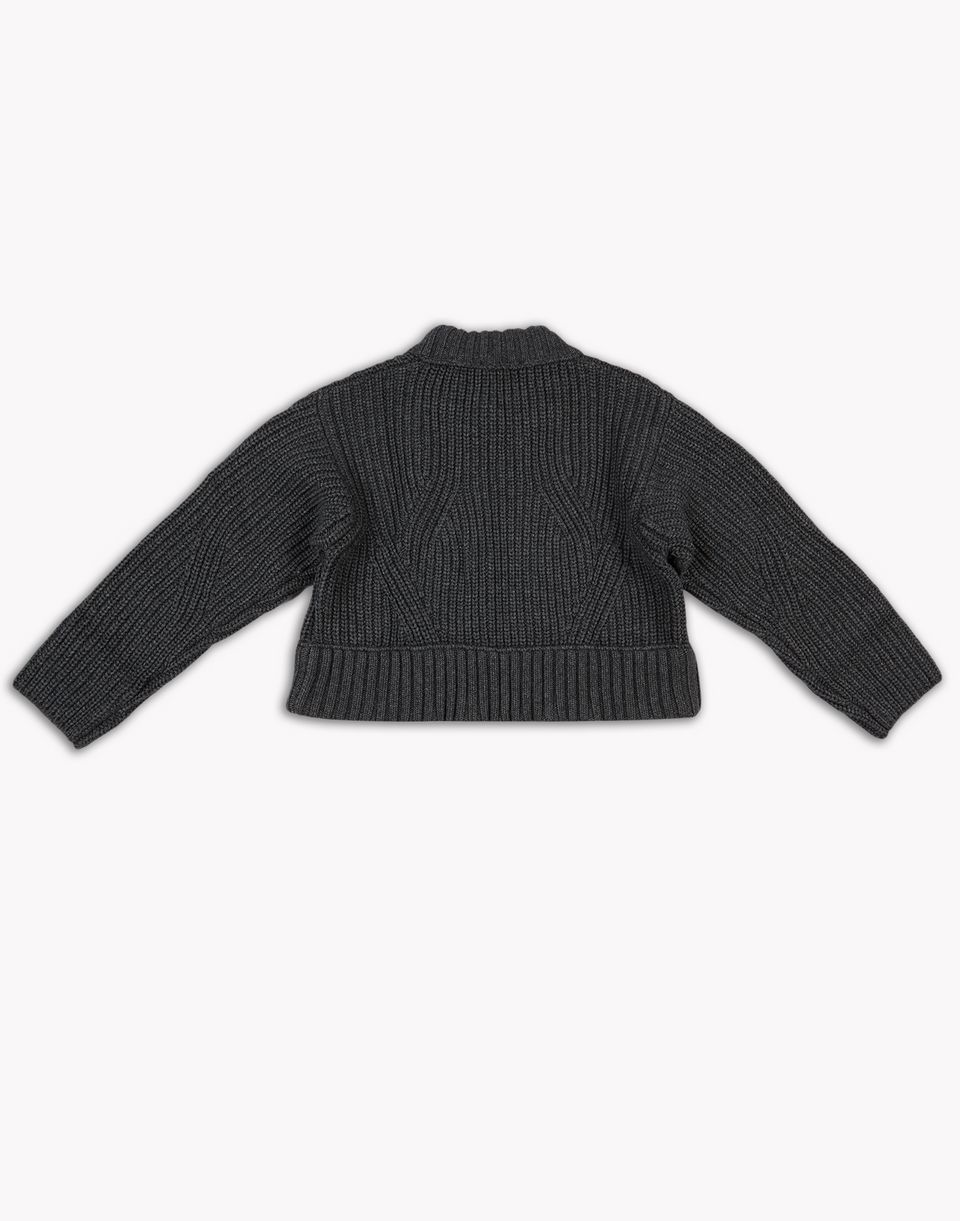 wool knit pullover top wear Woman Dsquared2