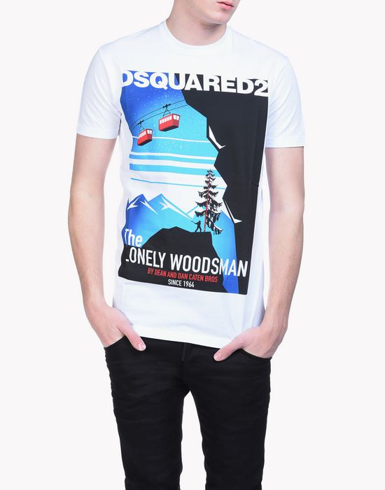 woodsman t-shirt tops & tanktops Herren Dsquared2