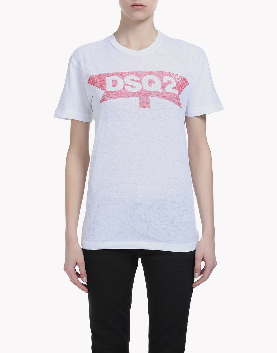 dsq2 t-shirt top wear Woman Dsquared2