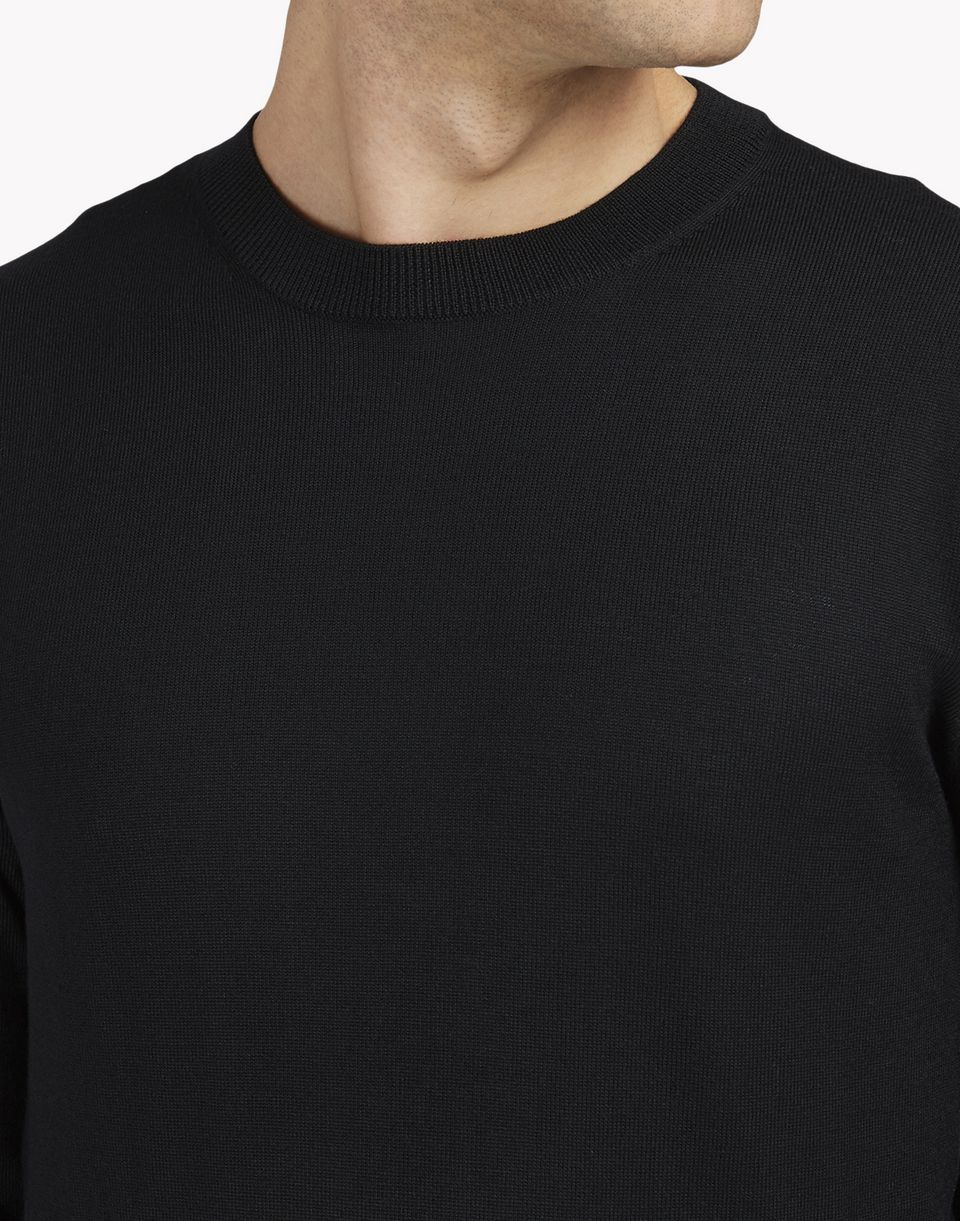 zipped crew neck pullover top wear Man Dsquared2