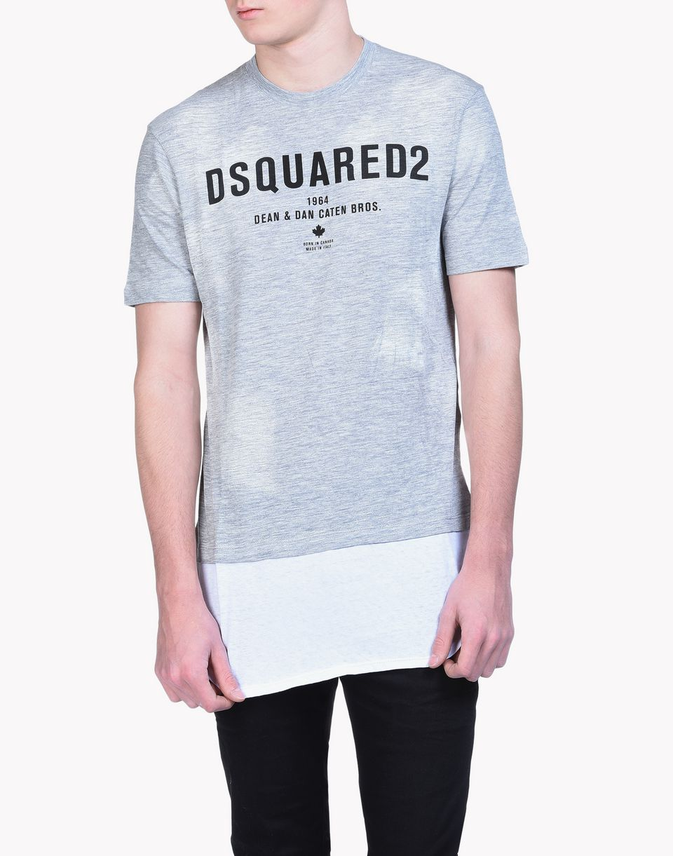 caten bros long t-shirt tops & tees Man Dsquared2