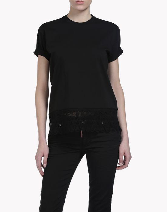 diana t-shirt camisetas y tops Mujer Dsquared2