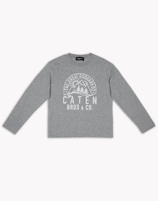 caten sweatshirt tops & tees Woman Dsquared2