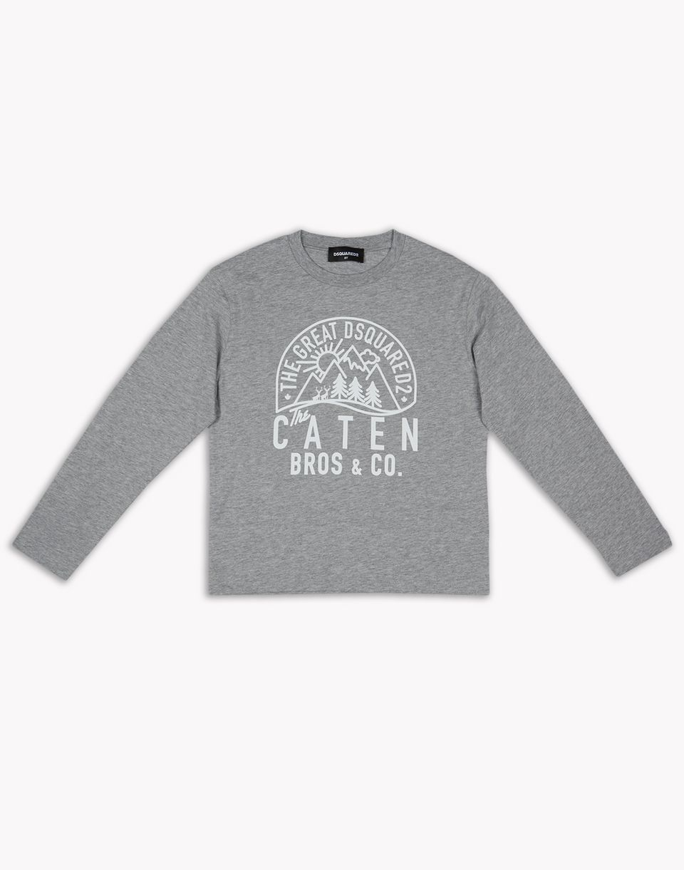 caten sweatshirt tops & tees Woman Dsquared2