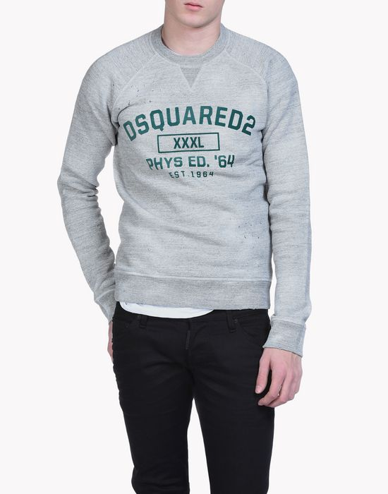 d2 sweatshirt tops & tees Man Dsquared2