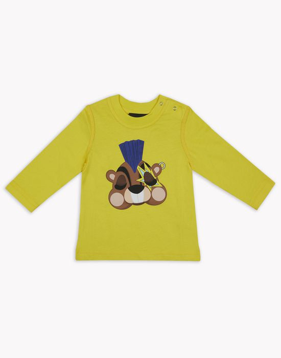 d2 squirrel long-sleeve t-shirt tops & tees Man Dsquared2