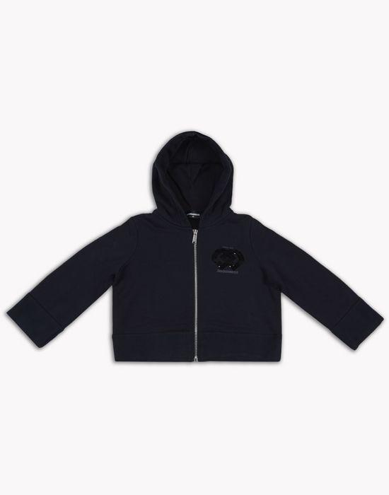 dd hooded sweatshirt tops & tees Woman Dsquared2