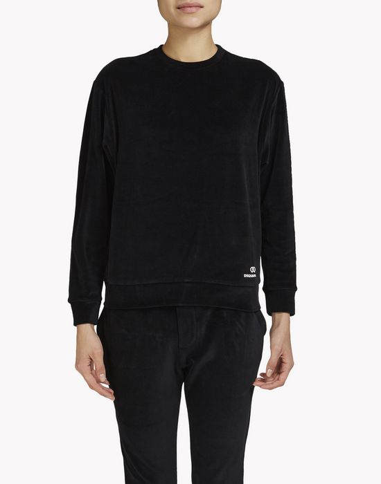 homewear sweatshirt underwear Woman Dsquared2