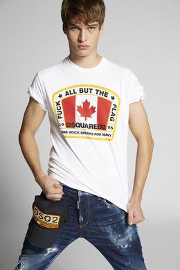 DSQUARED2 Short sleeve t-shirt U S74GD0379S20694100 m