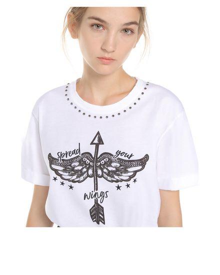 REDValentino T-Shirt Woman PR3MG09C3SB 0BO  a