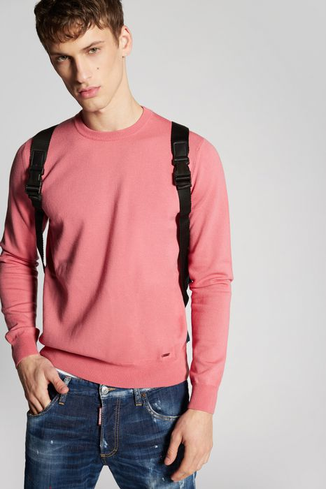 wool knit pullover top wear Man Dsquared2