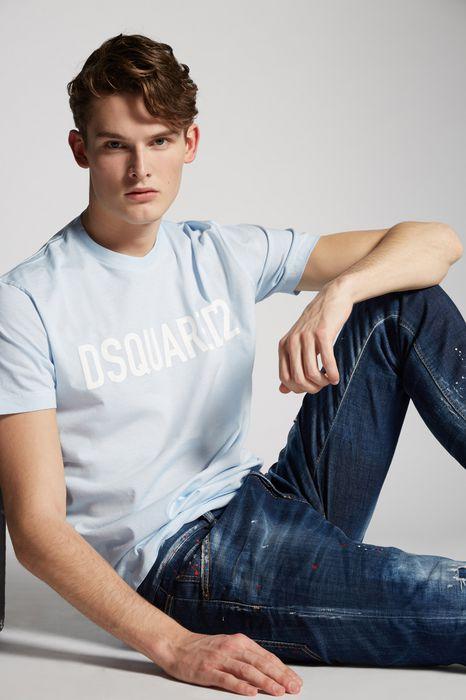 pastel logo t-shirt tops & tees Man Dsquared2