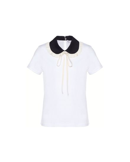 REDValentino T-Shirt Woman PR3MG08H3J8 0BO a