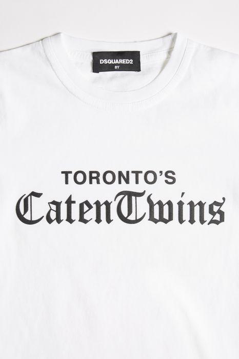 caten twins t-shirt tops & tees Man Dsquared2