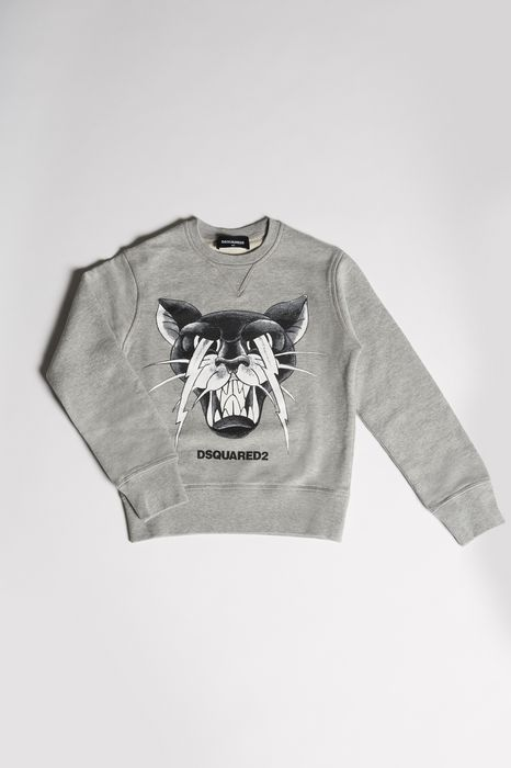 tiger sweatshirt tops Homme Dsquared2
