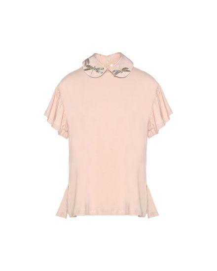 REDValentino T-Shirt Woman PR3MG08B3J2 C03 a