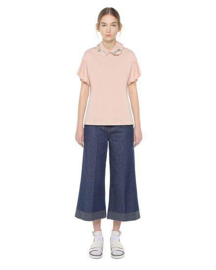 REDValentino T-Shirt Woman PR3MG08B3J2 C03 f