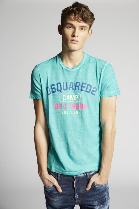 camp brothers t-shirt tops & tanktops Herren Dsquared2