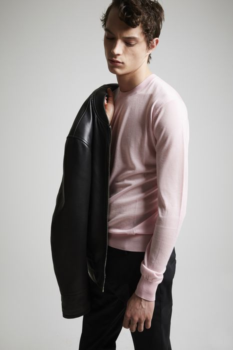 cashmere long sleeves pullover top wear Man Dsquared2