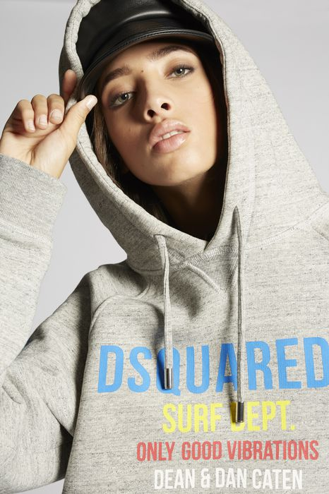 surf dept. sweatshirt top wear Woman Dsquared2