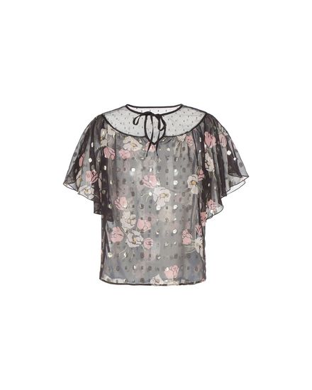 REDValentino Top Woman PR3AA0U03G0 0NO a