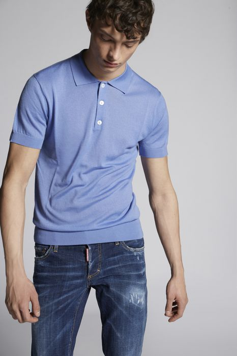 cashmere polo pullover top wear Man Dsquared2