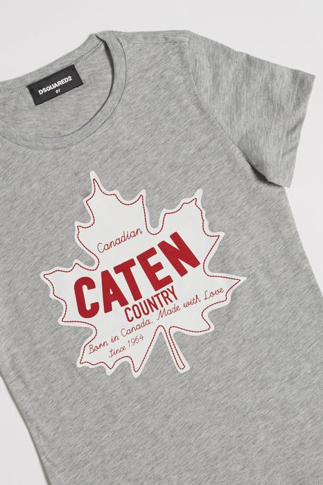 caten country t-shirt tops & tees Woman Dsquared2