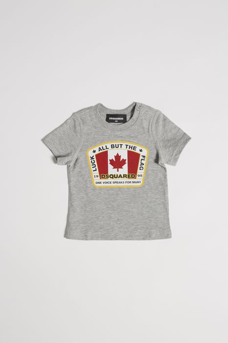 d2 canadian flag t-shirt tops & tees Man Dsquared2